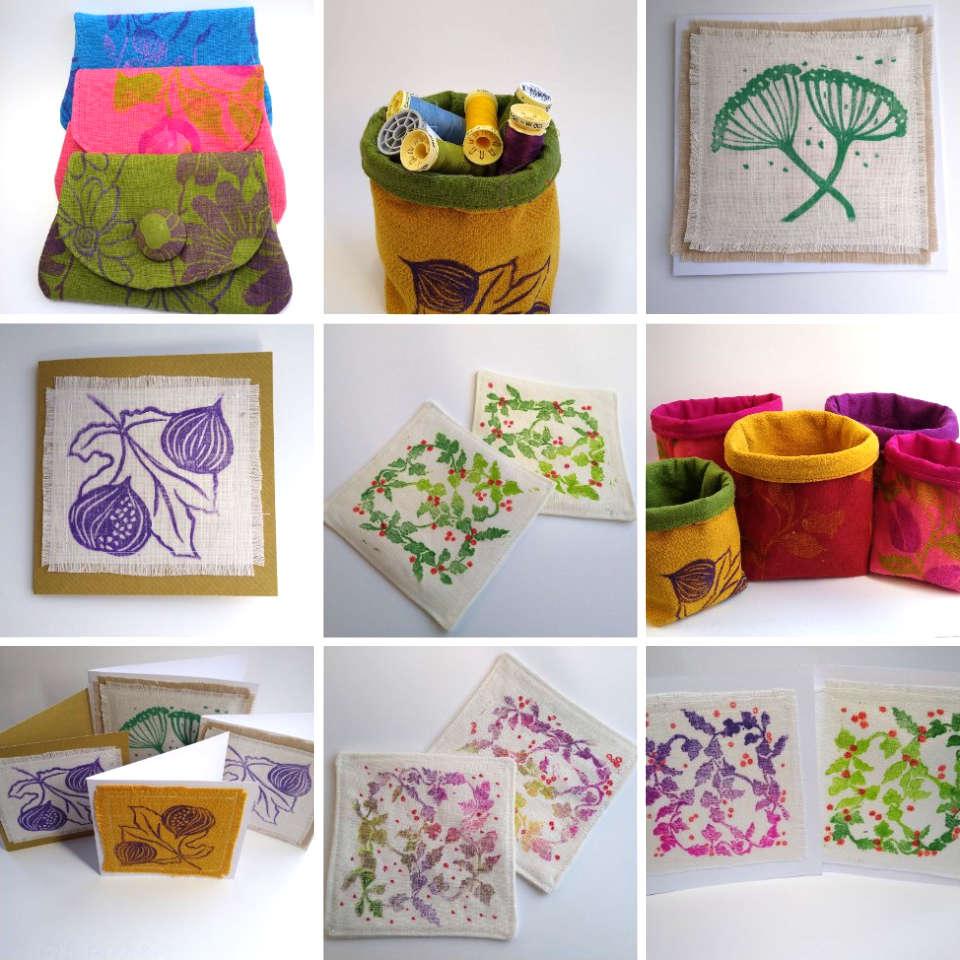 sally anne morgan fabric prints