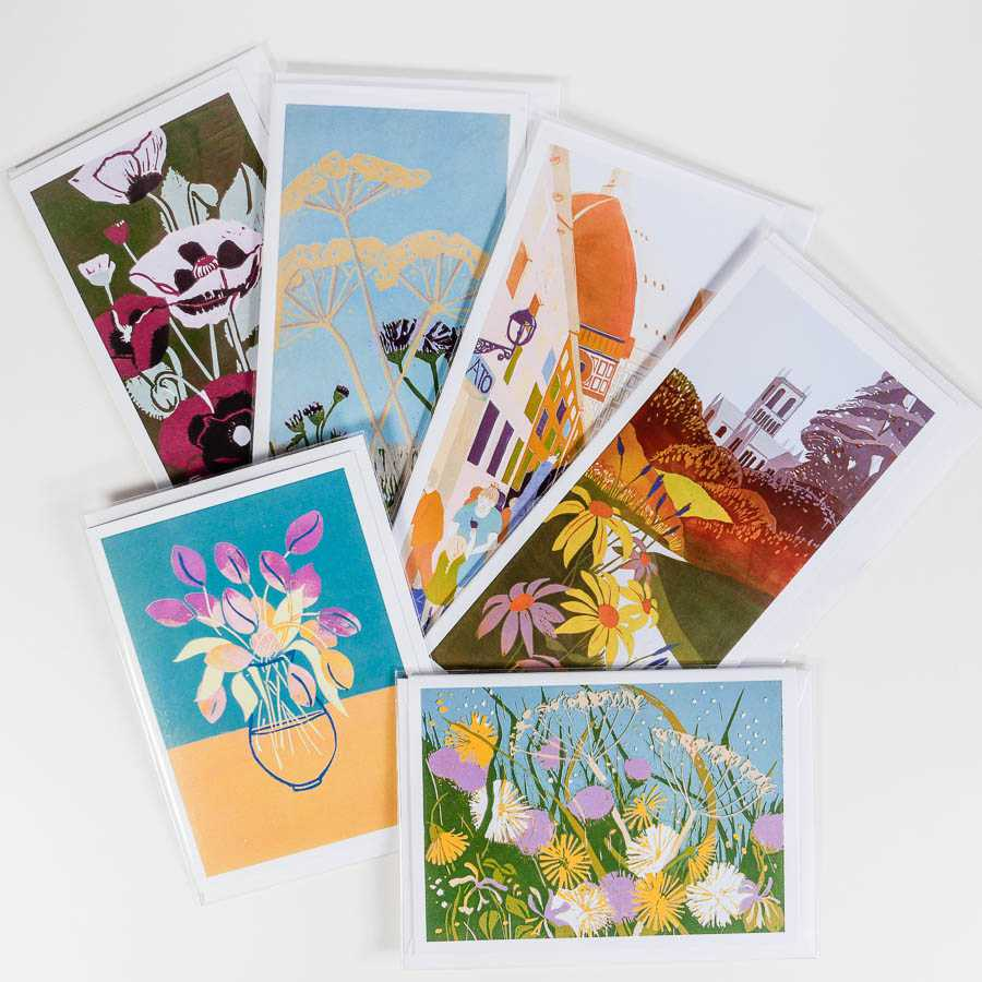 sally anne morgan painter – greetings cards