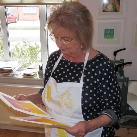 sally anne morgan painter-printmaker