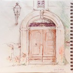 sketchbook-loreto door