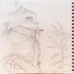 sketchbook-loreto rooftops